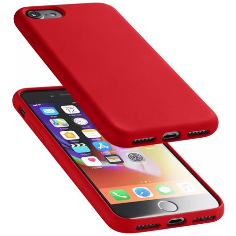 CELLULAR LINE Custodia Soft Touch iPhone 8/7 Rosso