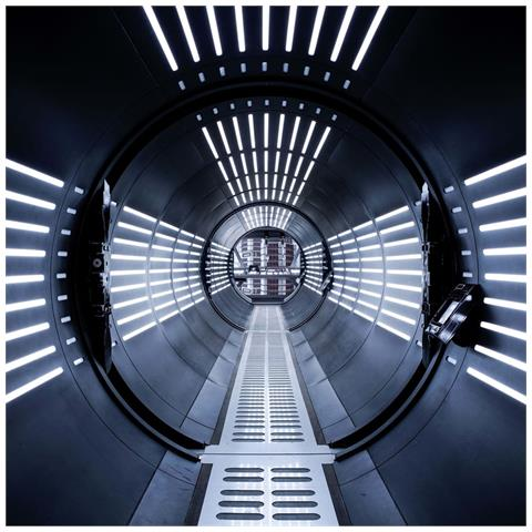 Fotomurale Star Wars Tunnel 368x254 Cm Nero
