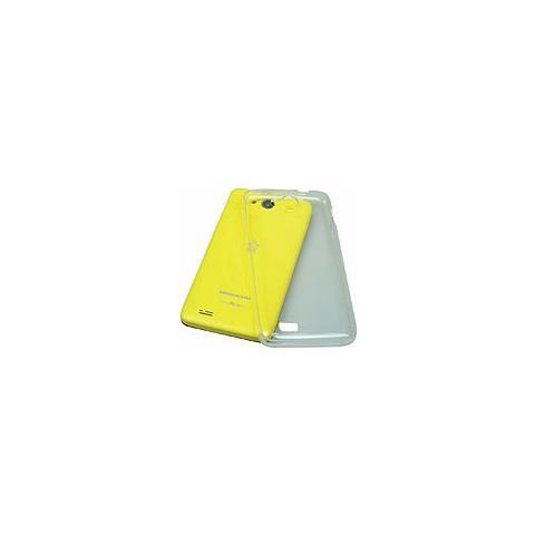 MEDIACOM Cover Posteriore in Silicone per PhonePad Duo G400 Trasparente