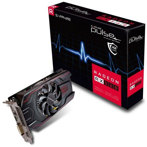 Sapphire Radeon RX 560 Pulse 4 GB