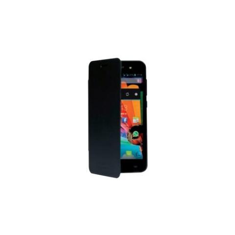 MEDIACOM Custodia Flip per PhonePad Duo S470 Blu Scura