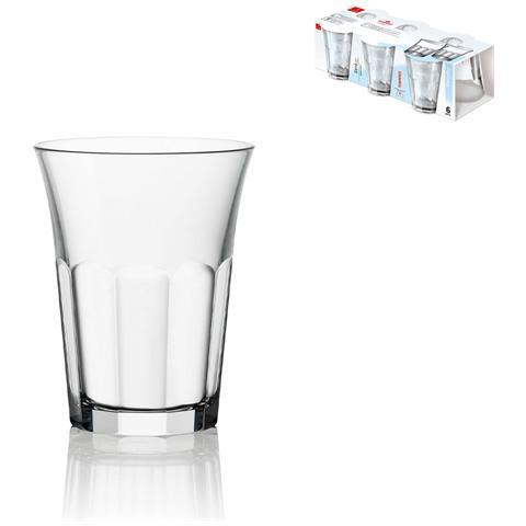 Set 6 Bicchieri Vetro Siena Cl07 Calici Vino Bicchieri Tavola