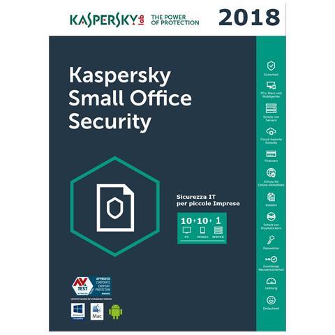 Small Office Security 10 Utenti - 1 Anno - Multilingue - Esd - Digital Code