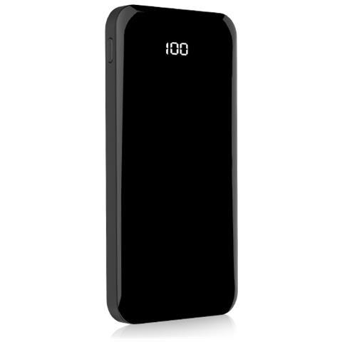 FONEX Display D10 Power Bank Batteria Esterna da 10000 mAh Colore Nero