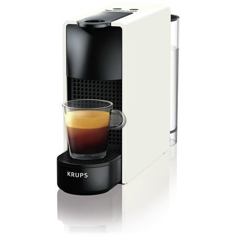 Macchina da Caffè XN1101K Essenza Mini Nespresso Serbatoio 0.6 Lt Potenza 1310 Watt Colore Nero e Bianco