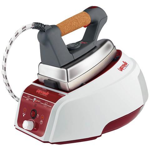 POLTI Vaporella Forever 625 Pro Ferro da Stiro con Caldaia Potenza 2150 Watt Colore Bianco / Rosso