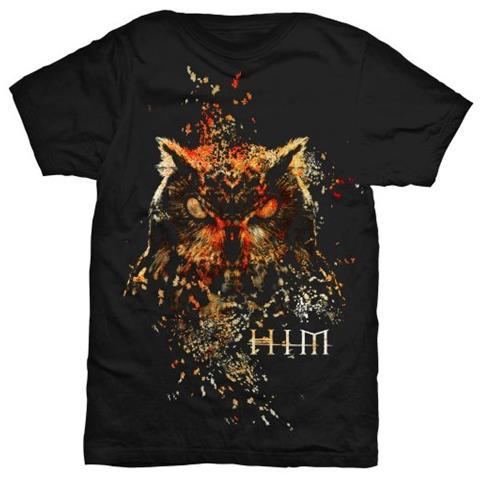 ROCK OFF Him - Owl Colour (T-Shirt Unisex Tg. 2XL)
