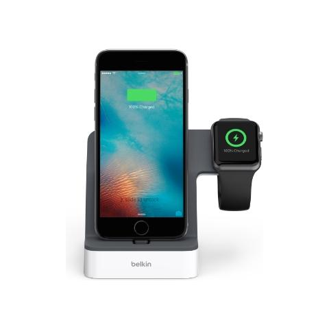 BELKIN Dock di ricarica PowerHouse per Apple Watch e iPhone