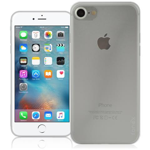 FONEX Inv Cover Ultra Sottile 0,2 mm in Morbido TPU per Apple iPhone 7 Colore Trasparente