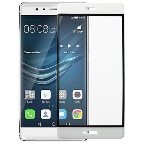 NetworkShop Pellicola Protezione Vetro Temperato Completo 3d Bianco Per Huawei P9