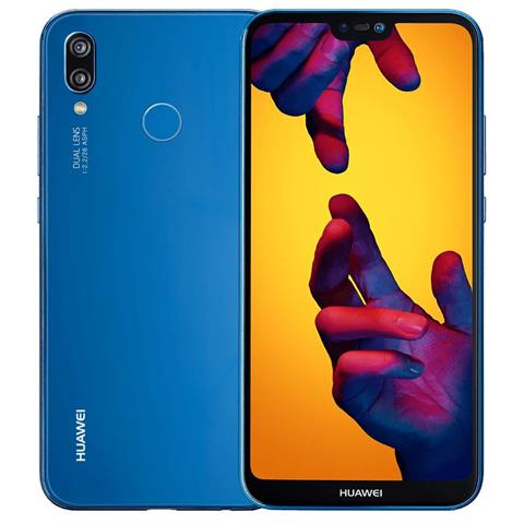 "HUAWEI P20 Lite Blu 64 GB 4G / LTE Display 5.8"" Full HD+ Slot Micro SD Fotocamera 16 Mpx Android Tim Italia"