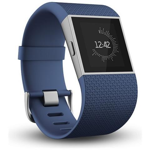 FITBIT Surge Blu Superwatch per il Fitness - Small