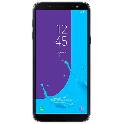 Galaxy J6 Viola Dual Sim Display 5.8'' Quad HD Octa Core Ram 3GB Storage 32GB +Slot MicroSD Wi-Fi + 4G / LTE Fotocamera 13Mpx Android - Italia