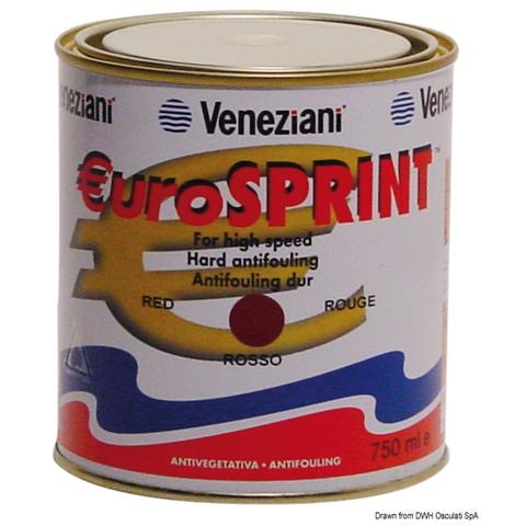 Antivegetativa Eurosprint rossa 2,5 l
