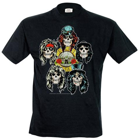 Rock Off Retail Limited Guns N' Roses - Vintage Heads (T-Shirt Unisex Tg. S)