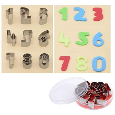 Set Tagliapasta Numeri In Metallo