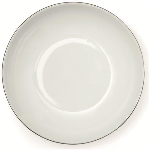 EXCELSA Piatto fondo Platinum cm. 21.
