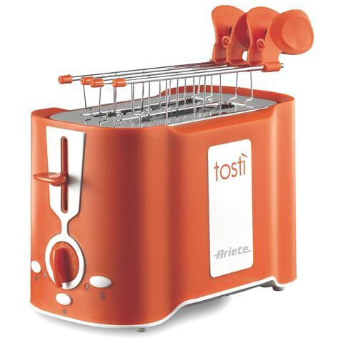 Tostì Tostapane Potenza 500 Watt Colore Arancione