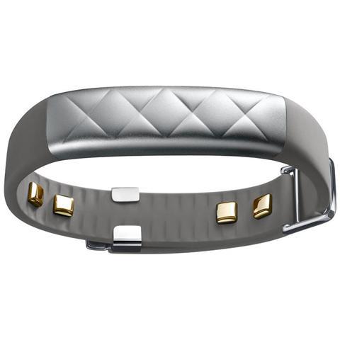 JAWBONE UP3 Bracciale Impermeabile Silver Cross per Attività fisica Sonno e Battito Cardiaco Bluetooth