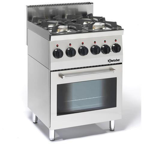 1315563 Cucina a 4 fuochi a Gas con Forno elettrico multifunzione