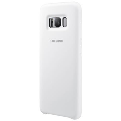SAMSUNG Cust. Semirigida Siliconata Sgh G950 Galaxy S 8 White