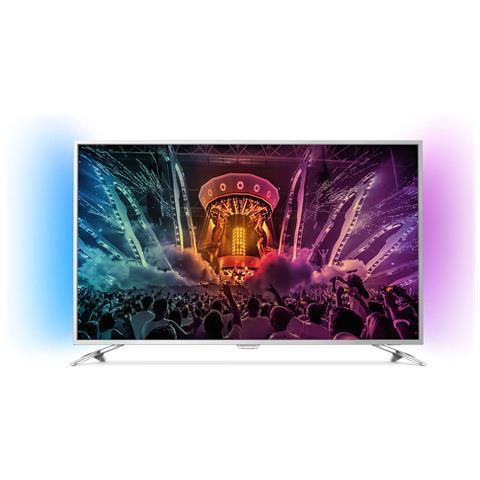 """PHILIPS 49PUS6501 TV Ultra HD 4K 49"""" Serie PUS6501 Ambilight 2 Lati HDR 200Hz RICONDIZIONATO"""