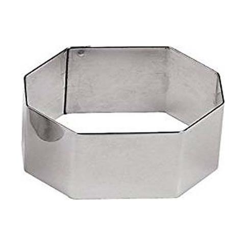 Coppapasta Esagono 5cm Acciaio Inox