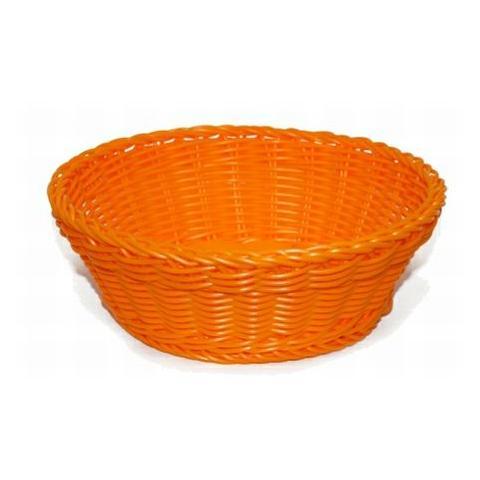EXCELSA 41234 Cestino Intreccio per Alimenti Diametro 20 cm Colore Arancione