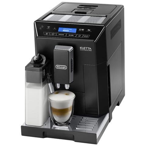 ECAM44660B Eletta Cappuccino Macchina del Caffè Automatica Potenza 1450 Watt Colore Nero