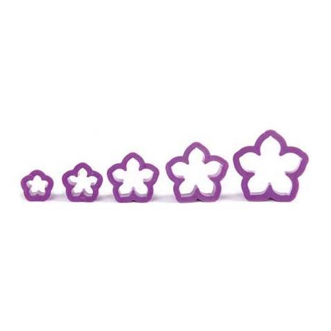 Decora Kit 5 tagliapasta petunia