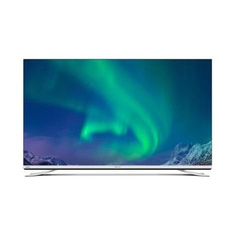 Image of TV LCD Ultra HD 4K 55'' LC55CUF8372ES Smart TV Aquos Net+