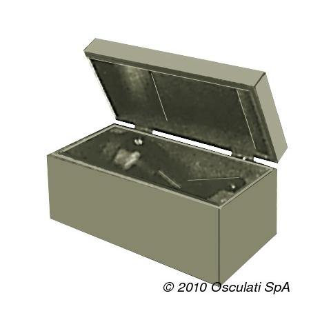 Cassetta in legno per bussola Prisma