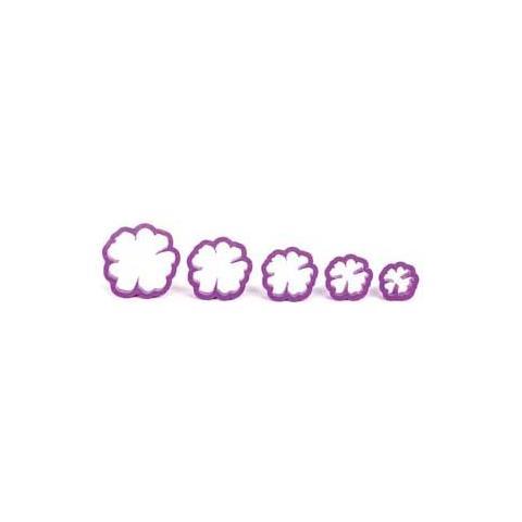 Decora Kit 5 tagliapasta rosa canina