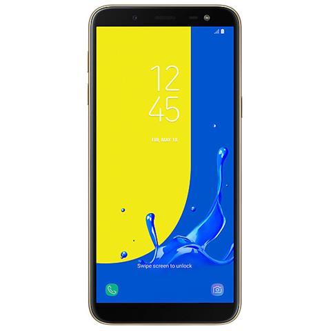 Galaxy J6 Oro Dual Sim Display 5.8'' Quad HD Octa Core Ram 3GB Storage 32GB +Slot MicroSD Wi-Fi + 4G / LTE Fotocamera 13Mpx Android - Italia
