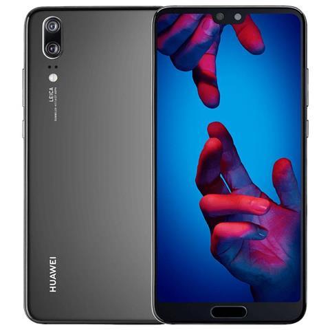 "HUAWEI P20 Nero 128 GB 4G / LTE Display 5.8"" Full HD+ Fotocamera 20 Mpx Android Tim Italia"