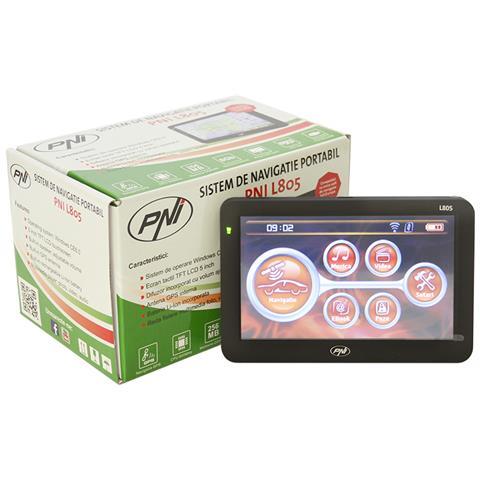 Navigatore Gps L805 Display 5'''' 800 Mhz 256mb Ddr 8gb Fm Transmitter
