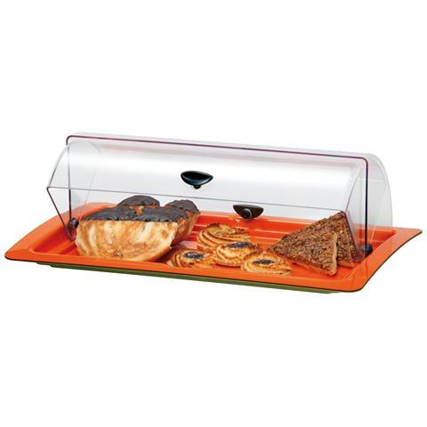 Vetrinetta portapanini pasticcini con coperchio 420x240 mm 500472