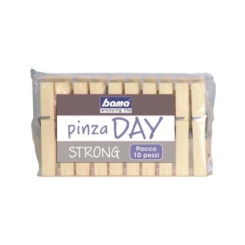 BAMA Pinze Mollette Day Da 10 Pezzi