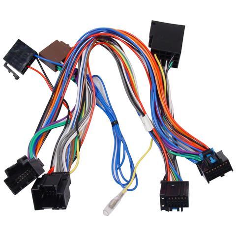 KRAM ISO2CAR Mute-Adapter Chevrolet 2007 Nero cavo di interfaccia e adattatore