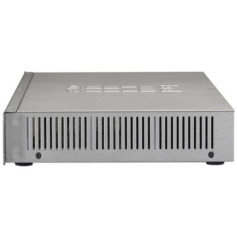 GEP-1621 Gigabit Ethernet (10/100/1000) Supporto Power over Ethernet (PoE) Grigio