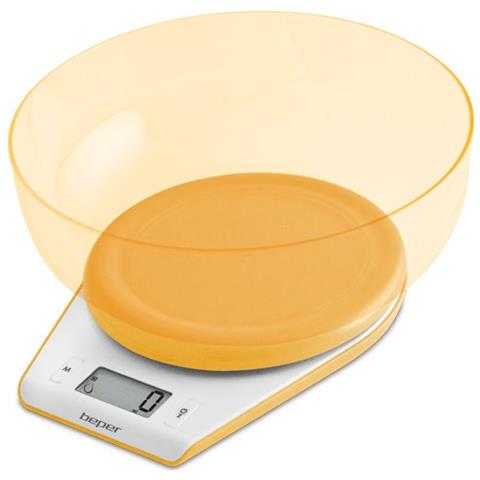 Bilancia Cucina Elettronica Arancione Cod 90.116ar