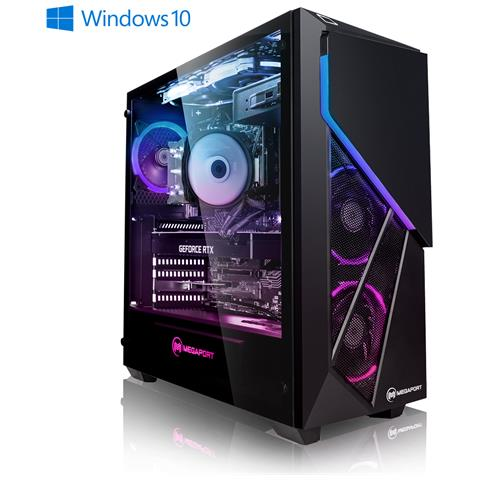 PC Wolf - Intel i7-10700K 8X 3,80 GHz - GeForce RTX3080 10GB - 16GB 3000 - 480 GB SSD - 1TB HDD - Windows 10 - WiFi - 77-IT