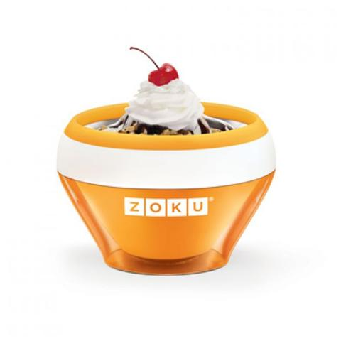 Ice Cream Maker Gelatiera Arancione