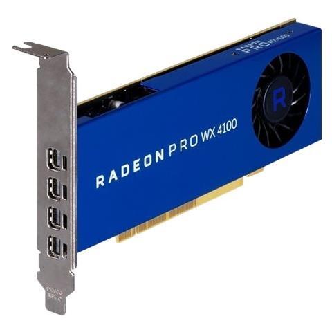 Image of Radeon Pro WX 4100 4GB GDDR5 4x Mini DisplayPort