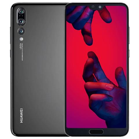 "HUAWEI P20 Pro Nero 128 GB 4G / LTE Impermeabile Display 6.1"" Full HD+ Fotocamera 40 Mpx Android Tim Italia"