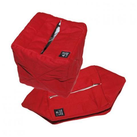 POMMY Sacco termico in cotone rosso