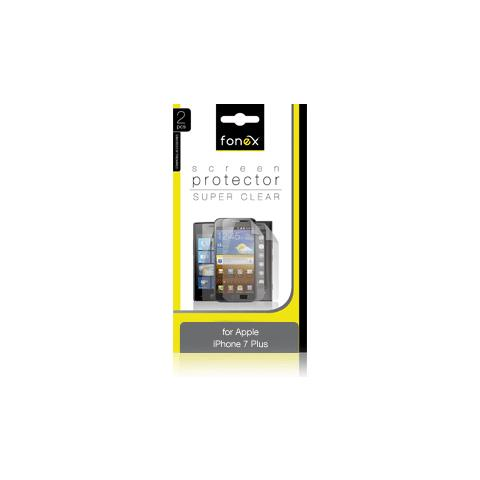 FONEX Pellicola Protettiva Ultra Trasparente per Apple iPhone 7 Plus (2Pz)