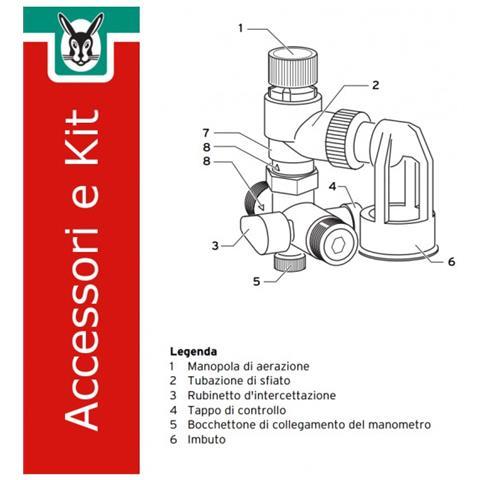 0020060434 Kit Gruppo Sicurezza Per Bollitori, Fino A 200 L