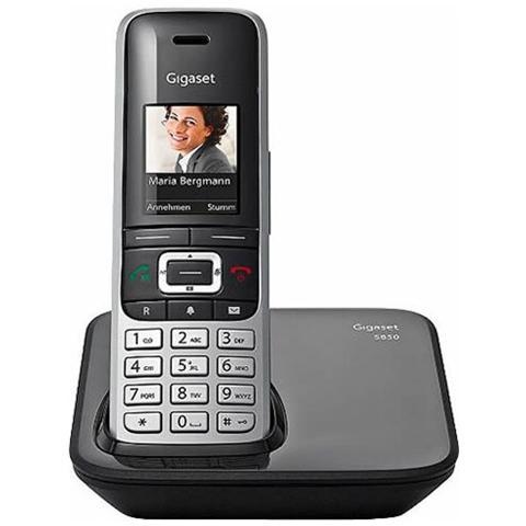 Gigaset S850 attacco cuffia, viva voce, bluetooth, SMS, E-Mail, blacklist, audio in alta definizione.