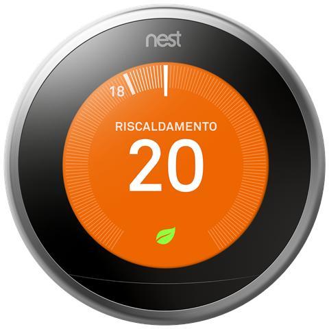NEST Learning Thermostat 3° Generazione WiFi